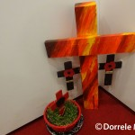 Poppies and Crosses of Remembrance