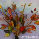 Autumnal Acetate Leaf Tree