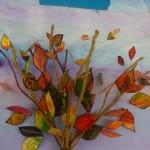 Acetate Leaf Tree