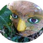 Mask On Leaves Eclipsed