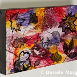 Multi-Coloured Caribbean Leaves On Box